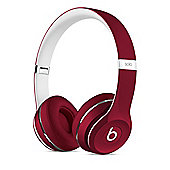 Beats by Dr. Dre Solo2 On-Ear Headphones (Luxe Edition) - Red