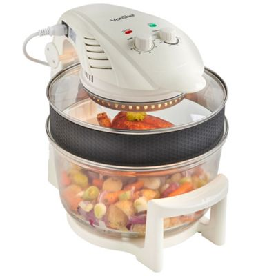 Buy Vonshef 12l Hinged Lid White Halogen Oven From Our