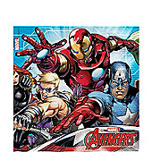 Mighty Avengers Paper Napkins - 33cm