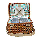 Optima Alfresco 2 Person Picnic Hamper, Gingham