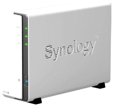 Synology DiskStation DS112j (1TB) 1-Bay SATA NAS Server (Maximum Internal Capacity: 4TB)