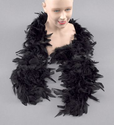 Feather Boa. Black