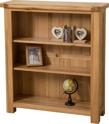 Cottage Solid Oak Small Bookcase