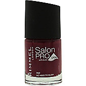 Rimmel Salon Pro Nail Polish 12ml - 707 No Need to Blush