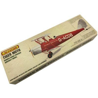 ZT Model Aviator Tiger Moth FF Model Plane