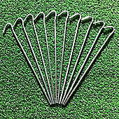 """20 Tent pegs. Ideal for Tents, netting, gardening etc. 9""""/23cm"""