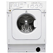 Indesit Integrated IWME 147 (UK) 7kg, 1400rpm Washing Machine - White