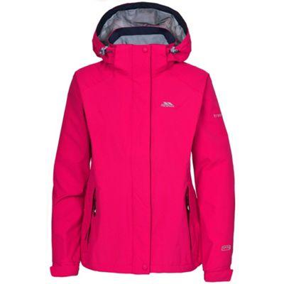 Trespass Ladies Florissant Jacket Cerise XL