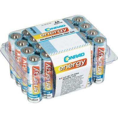 Conrad Energy Alkaline AAA Pack of 24
