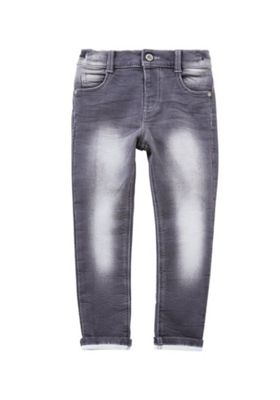 F&F Washed Stretch Skinny Jeans 4-5 years Grey