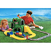 Little Tikes Peak Road And Rail Set