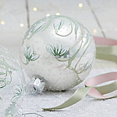 Snowdrop Pearl Christmas Bauble
