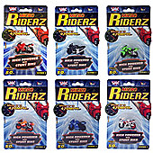 Wicked Micro Riderz - Complete set of 6 Bikes (No duplicates)