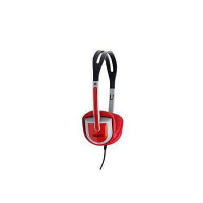Urbanz BUZZR Buzz Light-Weight Headphones - Red