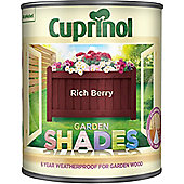 Cuprinol Garden Shades - Rich Berry - 1 Litre