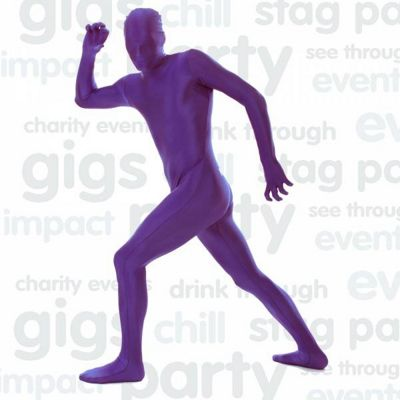Morphsuit Costume in Purple