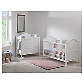 East Coast Toulouse 2 piece nursery room set, White