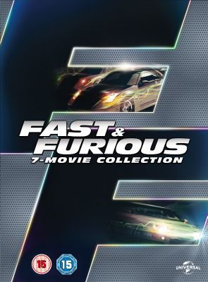 Fast & Furious 1-7 [DVD] [2015]