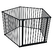 Safetots Play Pen Black Pentagon