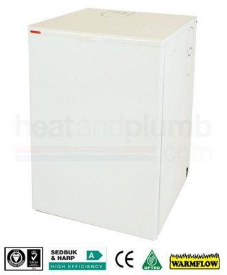 Warmflow U-SERIES Kitchen / Utility Condensing Combi Oil Boiler 26-33kW