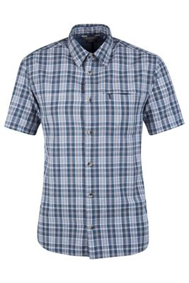 Mountain Warehouse Holiday Short Sleeved Shirt - 100% Cotton - Lightweight and