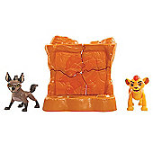Disney The Lion Guard Two Figure Battle Pack - Kion & Hyena