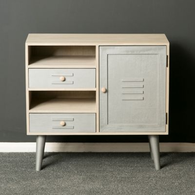 Oslo Painted Silver and Grey Sideboard