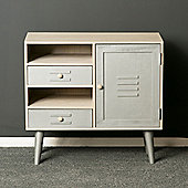 Oslo Silver and Grey Painted Sideboard