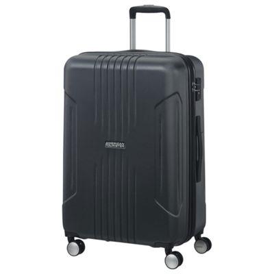 American Tourister Tracklite Medium 8 Wheel Black Suitcase