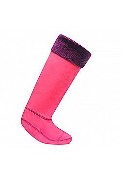 Regatta Knitted Cuff Sock BrtBlsh/Blkc L