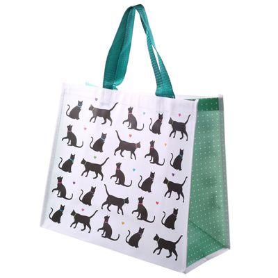 Puckator I Love my Cat Design Shopping Bag