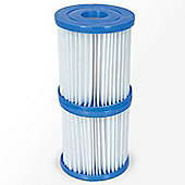 Bestway 58094 Type II Cartridge Filter- 12 Pairs