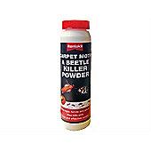 Rentokil Carpet Moth & Beetle Killer Powder