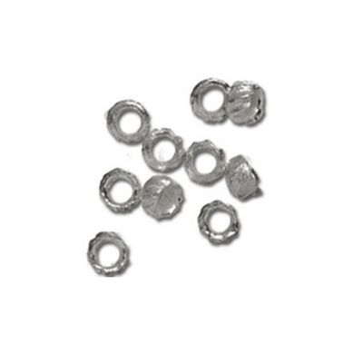 Impex Silver Pattern Crimps 2mm