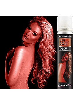 Smiffy's - Red UV Hair & Body Spray - 75ml