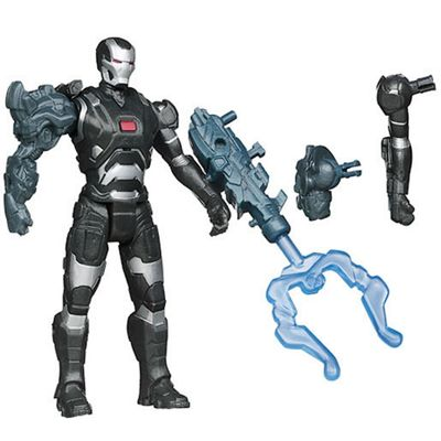 Marvel Iron Man 3 Assemblers 10cm Figure - War Machine