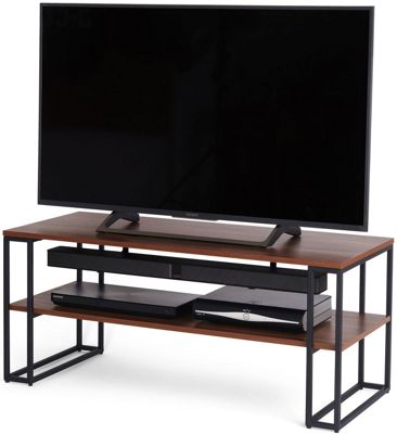 Off The Wall Cube 1100 Walnut TV Stand for up to 50 inch