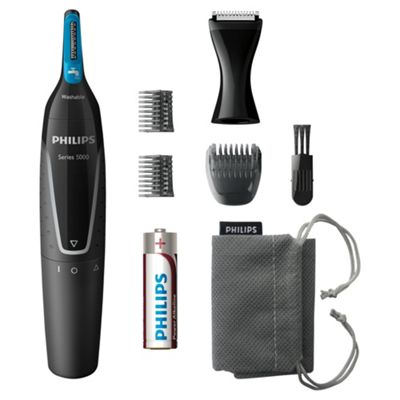 Philips NT5171/15 Mens Cordless Detail Nose, Ear and Beard Trimmer