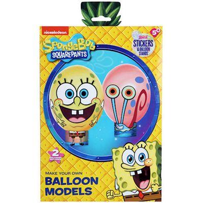 Spongebob Squarepants Make Your Own Balloon Models