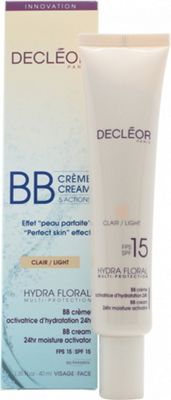 Decleor Hydra Floral Multi-Protection BB Cream 24hr Moisture Activator 40ml SPF15 (Light)