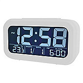 Acctim 15252 Meto Alarm Clock - White Mist