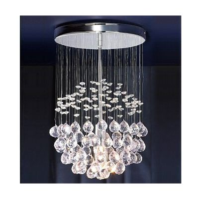 Denver ceiling light chandelier chrome