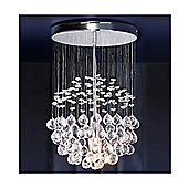 Denver Ceiling Light Chandelier, Chrome