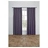 Blackout Pencil Pleat Curtains, Duck Egg (66 x 54'') - Heather purple