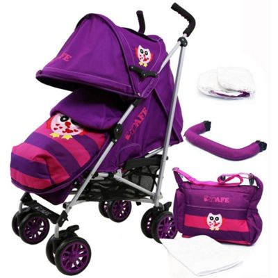iSafe Special Edition Stroller (Owl & Button)