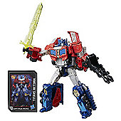 Transformers Generations Titans Return Voyager Class Figure - Diac & Optimus Prime