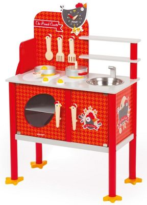 Janod Cocette Maxi Cooker Role Play Wooden Toy