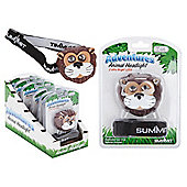 Summit Adventures LED Animal Headlight Torch, Lion