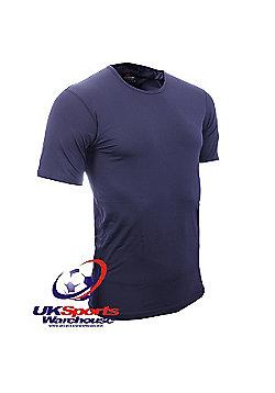 "Canterbury ""Coolers"" Short Sleeve Black Crew T-Shirt - Black"