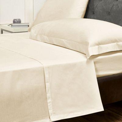 Julian Charles Champagne Luxury 180 Thread Count Flat Sheet - Single